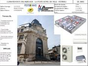 Climatisation des Bureaux - La poste Hôtel de ville - Poitiers