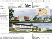 Restructuration d'un Lycée et collège au Porteau - ISAAC de l'étoile