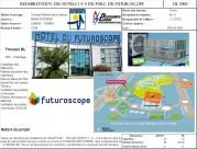 Réhabilitation des Hôtels 1 à 4 du Parc du Futuroscope