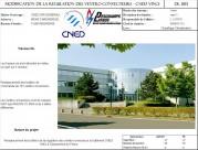 Modification de la régulation des ventilo-convecteurs - CNED VINCI