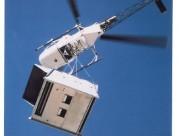 Transport d'un Roof - Top par hélicoptère